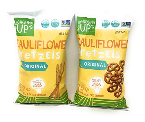 From the Ground Up Pretzel Bundle Two 4.5 Ounce Bags: One Bag Original Twists One Bag Original Sticks