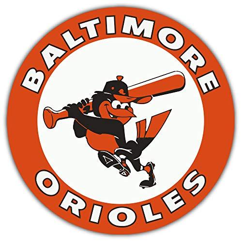 skyhighprint Baltimore Orioles MLB Baseball Sport Decor Vinyl Print Sticker 12'' X 12''