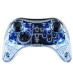 Signature Afterglow blue lighting 2 lighting modes: ON, OFF SmartTrack provides superior analog stick technology Compatible with Energizer Xbox One Chargers Enhanced L/R and ZL/ZR buttons This product does not have vibration engines.