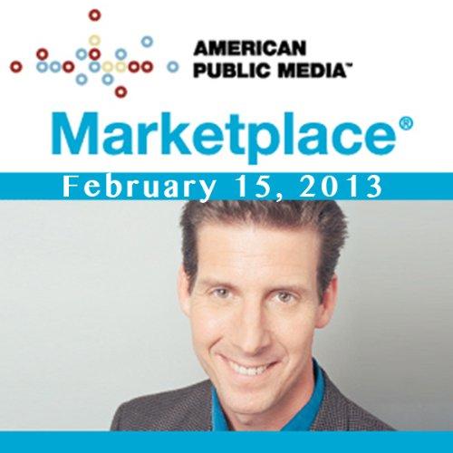 Marketplace, February 15, 2013 cover art
