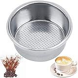 Cestello filtro caffè in acciaio inox Cestello filtro poroso caffè Filtro per Cestello del Filtro Non Pressurizzato per caffè adotta un design poroso che ha un ottimo effetto filtrante,riutilizzabile