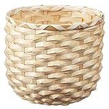 Unbekannt Maceta de bambú de KAFFEBÖNA, Hecha a Mano, 15 cm