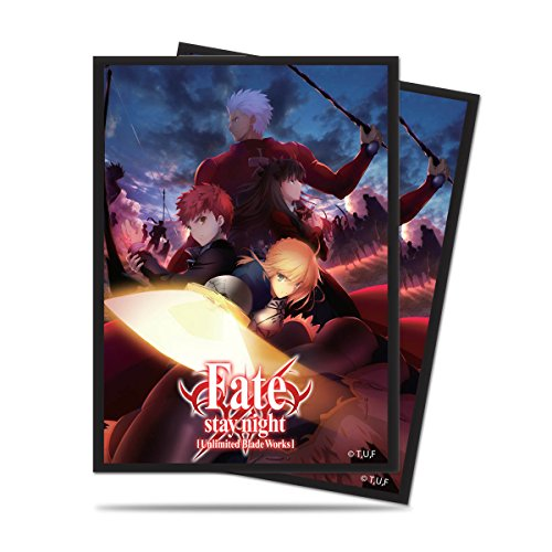Ultra Pro Official Fate/Stay Night Unlimited Blade Works Standard Deck Protector Sleeves