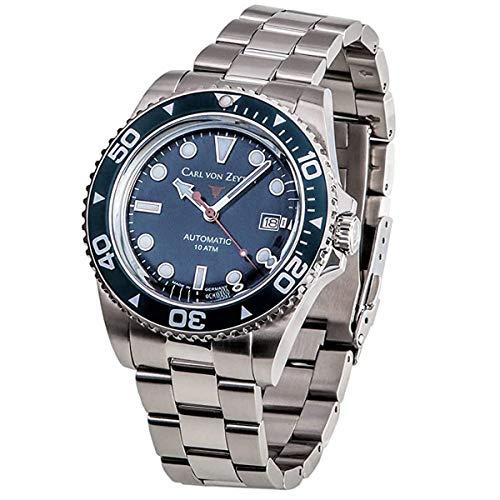 Carl von Zeyten Herren Uhr Armbanduhr Automatik NO.30 CVZ0030BLMB