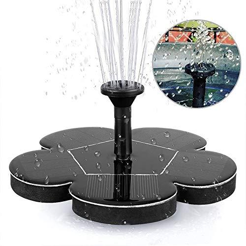 Solarwasserbrunnen, Schwimmende Brunnenpumpe Für Gartendekoration, Vogelbad, Teich, Aquarium, Pool, Wasserkreislauf 1.5W Garten Solarbrunnenpumpe