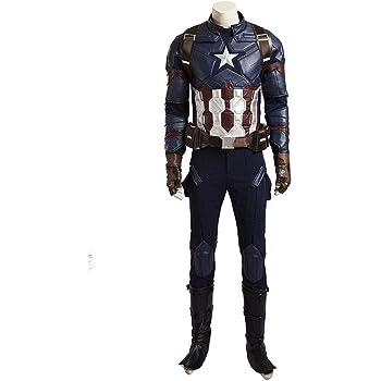 Avengers Age Of Ultron Cosplay Captain America Steve Rogers Costume Halloween
