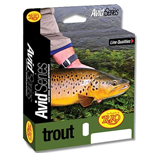 RIO Products Fly Line Avid Trout Wf5F Pale Yellow, Pale-Yellow
