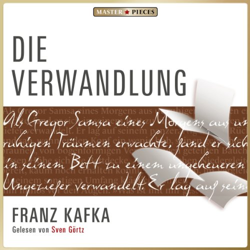 Die Verwandlung                   By:                                                                                                                                 Franz Kafka                               Narrated by:                                                                                                                                 Sven Görtz                      Length: 2 hrs and 5 mins     Not rated yet     Overall 0.0