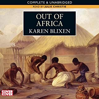 Out of Africa audiobook cover art