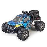 BAOZUPO RC Cars Remote Control Car for Boys 2.4 GHz Carreras de Alta Velocidad, 1:18 RC Trucks 4x4 Offroad con Faros, Roca eléctrica Crawler Toy Coche para niños Adultos