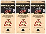 Bigelow Vanilla Chai Tea Bags 28-Count Box (Pack of 3) Black Tea Bags with Spices and Vanilla Flavor Rich in Antioxidants