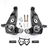WULF 4' Front Spindle Lift Kit compatible with 2001-2011 Ford Ranger 2WD with Coil Spring Suspension