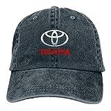 TEJNFDHSRRE Toy-OTA Unisex Logo Cowboy Hat Adjustable Casual Baseball Cap Denim Dad Hat