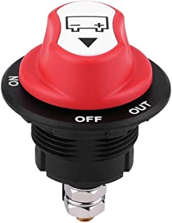Car Battery Switch,Vehicle Battery Switch,Max 32V 100A CONT 150A INT On/Off Automotive Battery Isolator Switch for Cars/Off Road Vehicle/Trucks