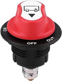 EBTOOLS Interruttore sezionatore batteria 12V universale On//Off Interruttore sezionatore batteria per auto//fuoristrada//camion