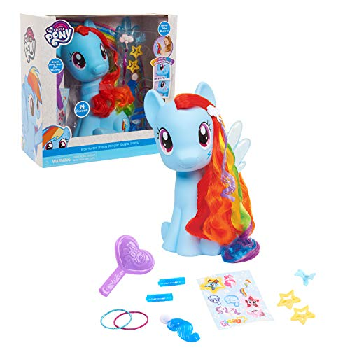 My Little Pony Rainbow Dash Styling Pony, by Just Play