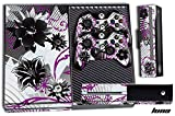 247Skins 1 Set of Designer Skin, Compatible with Xbox ONE 1 Gaming Console +2 Controller Sticker Decals Luna PR