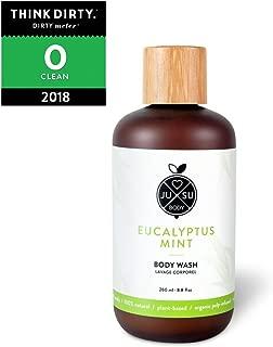 JUSU Body Eucalyptus Body Wash - 100% Natural - 8.8 fl oz