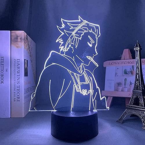 XIENIUNIU -Luz de noche 3D/Diapositiva LED/Luz de juguete de acrílico para niños/Fuente de alimentación USB/Luz táctil con control remoto/Navidad/Halloween/Fiesta/Regalo de cumpleaños