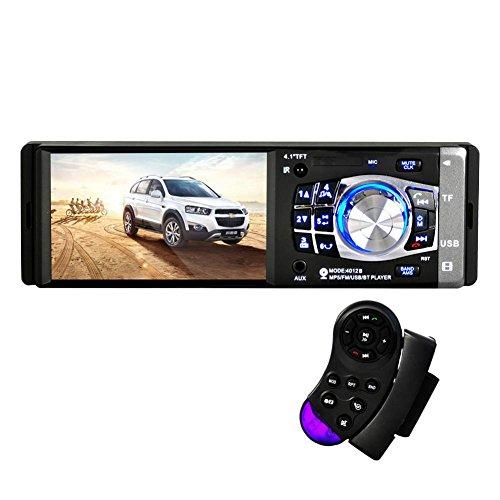 MTTLS Autoradioschermo HD da 4,1 pollici e HD Bluetooth stereo ricevitore audio Ricevitore USB e slot per schede SD auto MP5 AUX 12V/24V-4012B