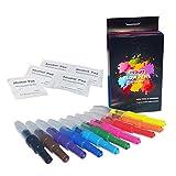 Opawz Blow Pen Kit de 10 Stylos Couleurs pour Chien
