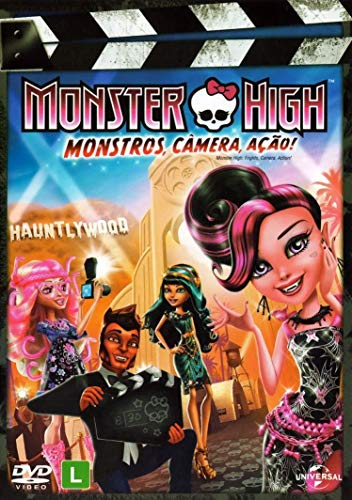 Monster High - Monstros, Câmera, Ação
