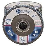 Disco de pulido de circonio de alta calidad de 4.5 x 2.2 cm de diámetro de 40 grano tipo 29-10 unidades