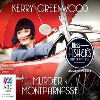 Murder in Montparnasse audiobook cover art