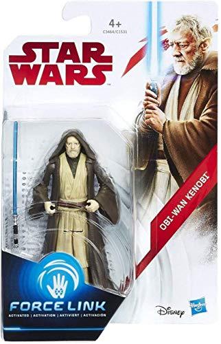 Hasbro Star Wars OBI-WAN Kenobi Force Link Figure - Kits de Figuras de Juguete para niños (4 año(s),, Niño/niña, 99 año(s), Dibujos Animados, Acción / Aventura)