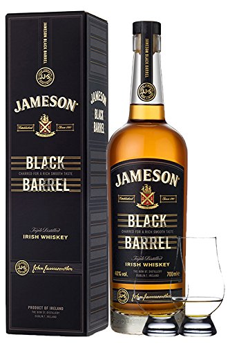 Jameson Select Reserve Black Barrel Small Batch 0,7 Liter+ 2 Glencairn Gläser