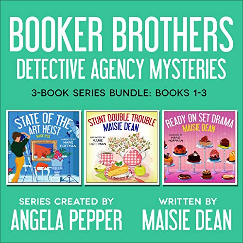 Booker Brothers Detective Agency Mysteries: Cozy Mystery 3-Book Series Box Set cover art
