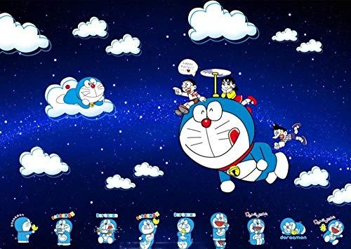 CXVXC Panda Gigante de Personaje de Dibujos Animados,UIUY 1000 Piezas,para Adultos,Máxima Calidad de impresión,Juguetes clásicos Rompecabezas, DIY Rompecabezas para Adultos