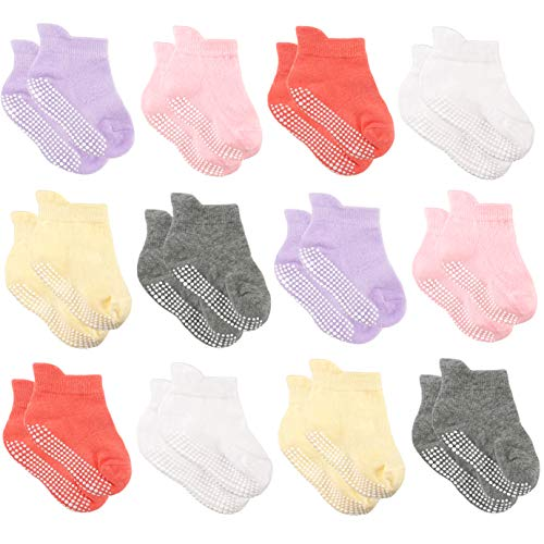 AVANTMEN Baby Socks with Grips N...