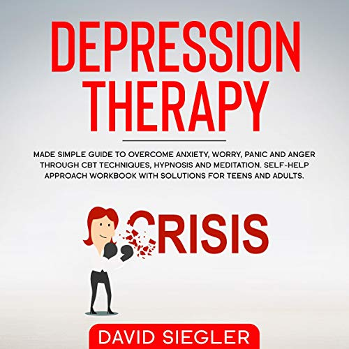 The Depression Therapy  By  cover art