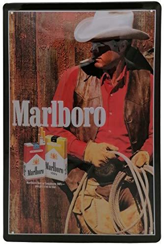 Retro Werbung - Marlboro Mann - hochwertig geprägtes Blechschild, 30 x 20 cm Dekoration, Barschild, Partykeller