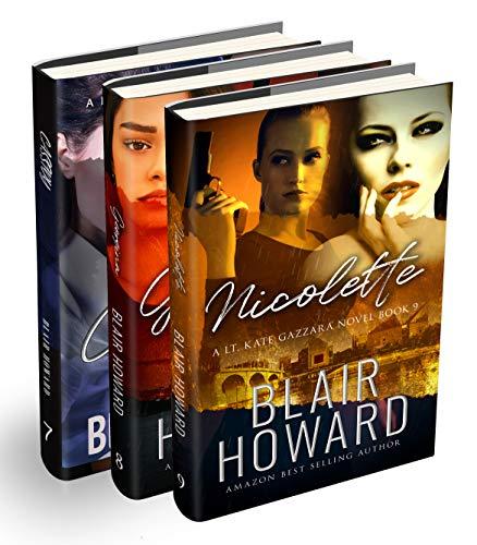 The Lt. Kate Gazzara Series - Books 7 - 9