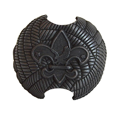 Deseret Deals Boy Scout Neckerchief Slide - Metal Kerchief Woggle, for Cub Scouts and Varsity Scouts (1 Pack)