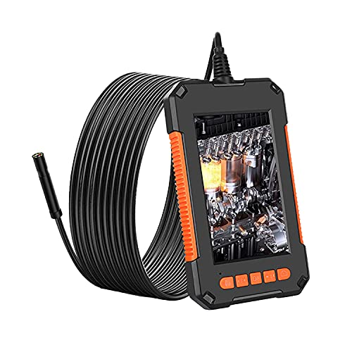 MAXWIN(マックスウィン) ファイバースコープ 内視鏡 マイクロスコープ カメラ 200万画素 1080P スコープカメラ IP67 防水 5m ケーブル LEDライト 4.3インチ モニター 整備 車 水中 空調 設備点検 メンテナンス 工具 MO-