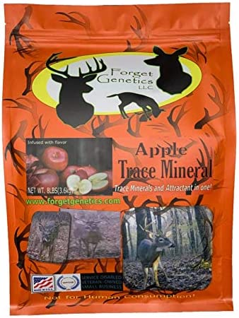 Deer Trace Ranking TOP15 Minerals and Super special price attractant Flavored Apple for Whitet