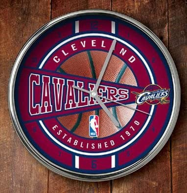 NBA Cleveland Cavaliers Official Chrome One S Multicolor Ranking integrated 1st place Superlatite Clock