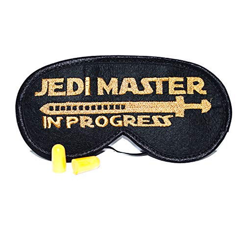 ComfortDecorHouse Star Wars Style Sleep Mask for Men Jedi Master in...