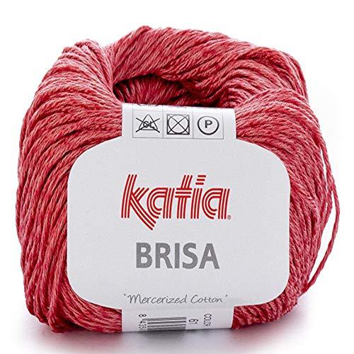 Lanas Katia Brisa Ovillo de Color Coral Cod. 61