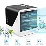 FlyBanboo Portable Air Conditioner, Mini Fan Air Cooler Personal Use Evaporative Air Humidifier for Home...