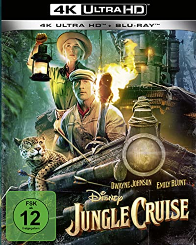 Jungle Cruise (4K UHD) [Blu-ray]