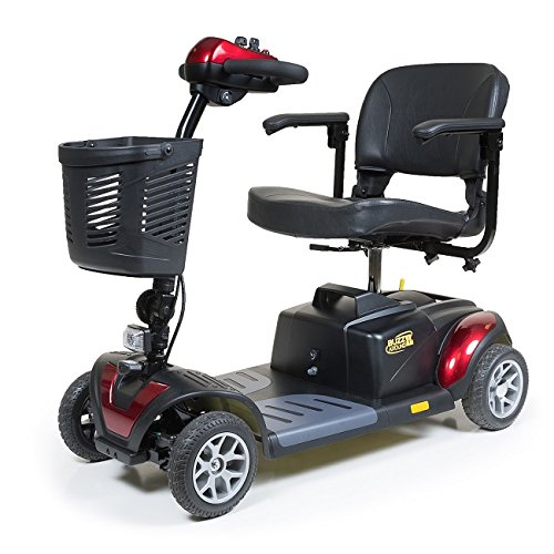 Lowest Price! Golden Technologies 2015 Buzzaround XL 4 Wheel Mobility Scooter in Red - GB147
