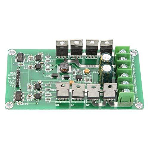 WNJ-TOOL, 1pc Zuverlässige IRF3205 DC-Motortreiber Dual Channel DC-Motortreiber-Brett-Modul H-Brücke W/Bremsfunktion Servotreiber