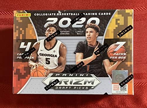 2020 21 Panini Prizm Draft Picks Basketball BLASTER box 28 cards box product image