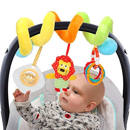 CYMY Baby Newborn Toys 0-3 3-6 6 to 12 Months, Stroller Car Seat Rattles Toys for Infants Baby Newborn, Baby Girl Boy toys Gifts 0-12 Months