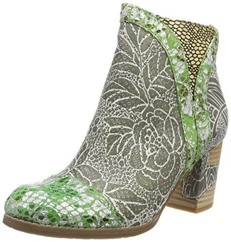 Laura Vita Anna 138, Chelsea Boots Femme, Kaki Vert, 42 EU