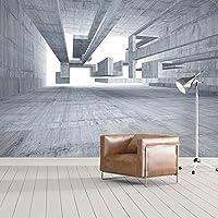 カスタム写真の壁紙モダンな抽象的な3D幾何学的な空間壁画リビングルームソファテレビ背景壁-130x60cm